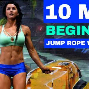 10 Minute Beginner Jump Rope Workout To Lose Weight