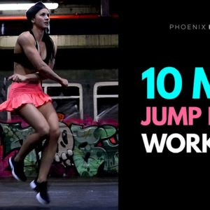 10 Minute Jump Rope Workout | Intermediate Level At Home or Gym