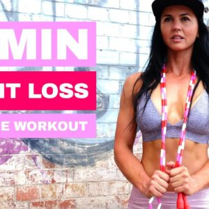 20 Minute Jump Rope Weight Loss Workout