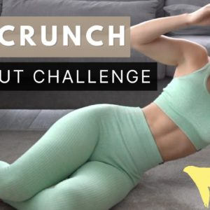 200 CRUNCHES | Abs Workout Challenge 🔥