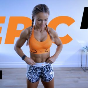 30 Min HARD HIIT Full Body Workout at Home | EPIC II - Day 11