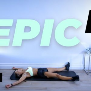 30 Min SUPERset HIIT Workout / No Equipment | EPIC II - Day 16