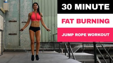 30 Minute FAT BURNING Full Body Jump Rope Workout