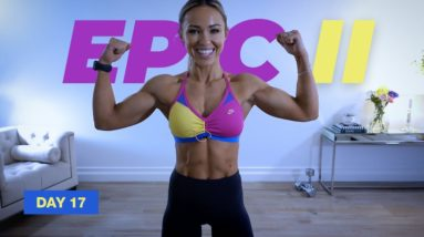 45 Min ARM DAY Workout with Dumbbells | EPIC II - Day 17