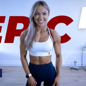 45 Min STRONG Shoulder Workout with Dumbbells | EPIC II - Day 19