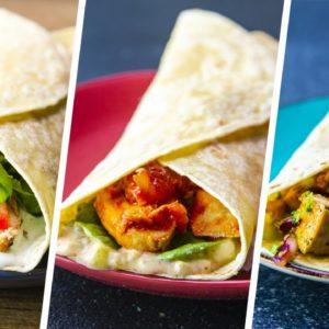 8 Healthy Chicken & Tuna Wrap Recipes For Weight Loss