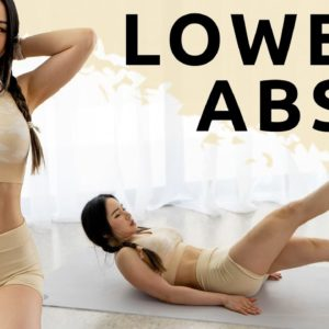 8 Mins Lower Abs Workout | Lower Belly Burn - Flat Stomach Challenge