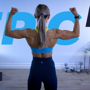 BUILD Back and Biceps Workout at Home / Dumbbells   EPIC II - Day 9