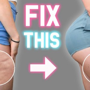 BEGINNER CELLULITE WORKOUT | Get Rid Of Cellulite FAST (Results in 3 Weeks) | At Home