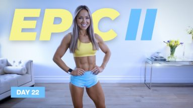 Dumbbell Lower Body COMPLEX Workout / Leg Day | EPIC II - Day 22