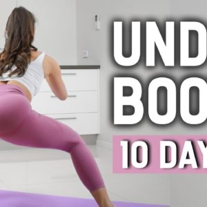 Lift Saggy Booty in 10 DAYS 🔥 UNDER BOOTY Home Workout | No Equipment