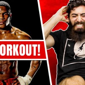 He Tried Mike Tyson's Total Body Workout (4,500 REPS!!)