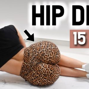 Get Rid Of HIP DIPS | 2 Week Side Booty & Hourglass Hips Workout | At Home - No Equipment