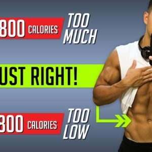 How Many Calories Should You Eat To Lose Fat? (GET THIS RIGHT!)