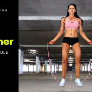 How To Jump Rope For Beginners   Side Straddle