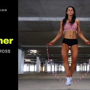 How To Jump Rope For Beginners | Straddle Cross