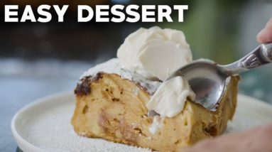 How To Make Bread Pudding - Quick Holiday Dessert Recipe