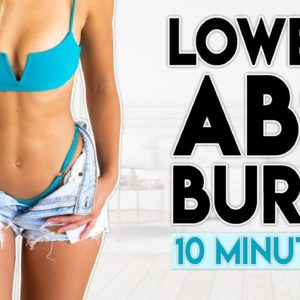 LOWER ABS BURN | 10 minute Home Workout Challenge