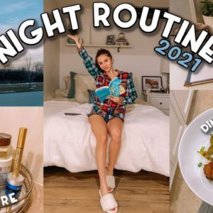 MY NIGHT ROUTINE 2021 | Realistic & Relaxing
