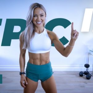 POWERFUL Full Body workout with Dumbbells | EPIC II - Day 10