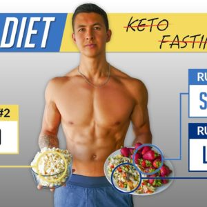 The Best Diet To Get Shredded (3 MUST FOLLOW RULES)