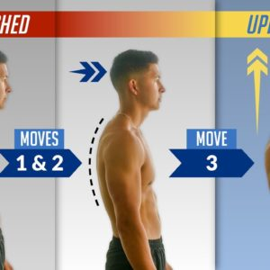 The Easiest Way To Fix Your Posture At Home (Just 3 Exercises!)