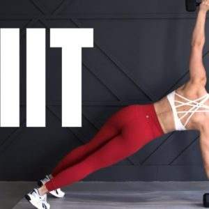 Total Body LOW IMPACT HIIT Workout with Dumbbells