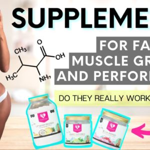 WHAT I TAKE FOR FAT LOSS, MUSCLE GAIN, & more! SIMPLE Supplement Routine