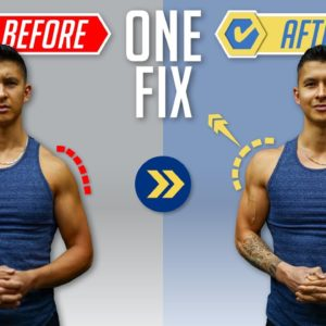 Why Your Delts Aren't Growing (ONE FIX!)