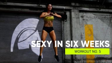 WORKOUT No. 5 LOWER & CORE 💋  SEXY IN SIX WEEKS Full Body Strength Program