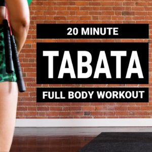 12-MINUTE FULL-BODY TABATA WORKOUT