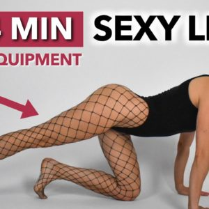 10 BEST EXERCISES TO GET SEXY & SLIM LEGS | Burn Thigh Fat | Beginner Friendly Workout