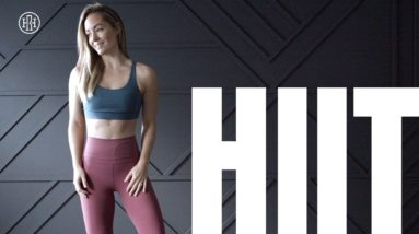 Full Body HIIT Workout (With Weights)