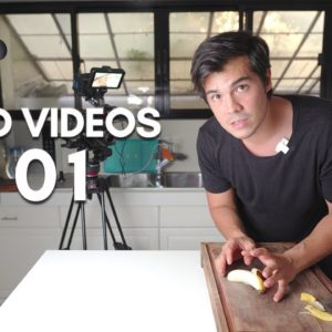How I Film Food Videos at Home Tutorial by Erwan Heussaff