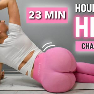 23 MIN HOURGLASS HIPS CHALLENGE | Side Booty Workout For Wider Hips | At Home