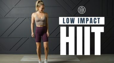 Powerful Low Impact HIIT Workout (No Equipment)