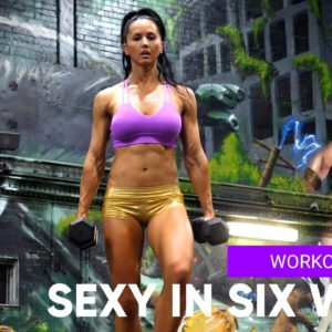GET LEAN AND STRONG PROGRAM | 💋  SEXY IN SIX WEEKS - WORKOUT No.28 LOWER + CORE