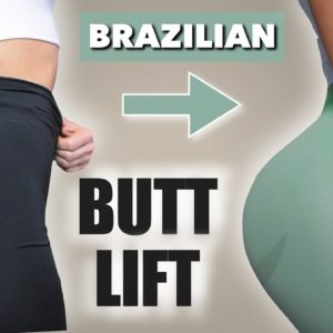 INTENSE BRAZILIAN BUTT LIFT CHALLENGE (Results in 2 Weeks) 🔥 Booty PUMPING Workout