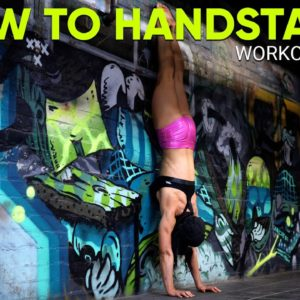 Want To Learn HANDSTAND For Beginners - Workout 2