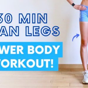 30 MIN LEAN LEGS WORKOUT | Booty Band Optional