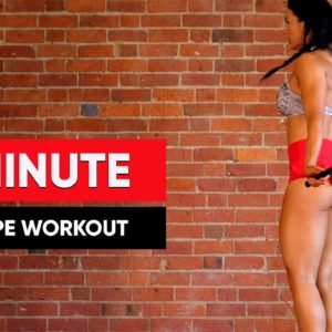 30 MINUTE Jump Rope Workout To Lose Weight