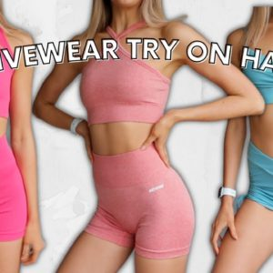 ACTIVEWEAR TRY ON HAUL | Bo and Tee!