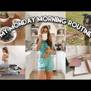 MY MONDAY MORNING ROUTINE | Healthy & Productive