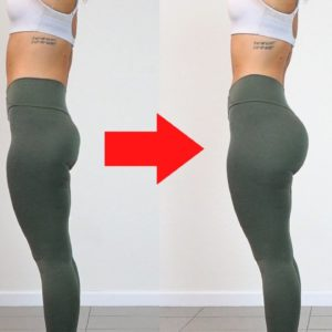 ROUNDER BUTT & SLIMMER ABS with Simple Home Exercises   Try It Every Day