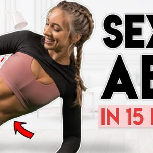 SEXY 11 LINE ABS in 15 Days | 5 minute Home Workout