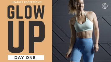 ⭐GLOW UP CHALLENGE // DAY 1: Full Body HIIT Workout