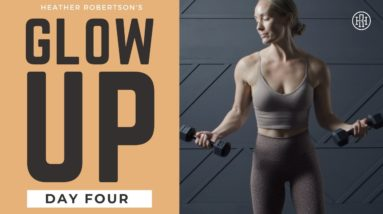 ⭐GLOW UP CHALLENGE // Day 4: Upper Body Tone + Sculpt workout