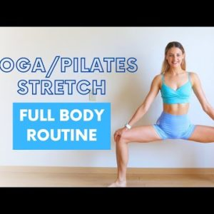 FLEXIBILITY/STRETCHING ROUTINE FOR LONG AND LEAN MUSCLES | Dancer Inspired
