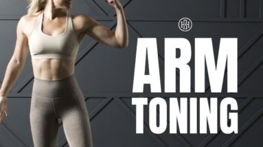 💪🏼 No Equipment ARM TONING Workout