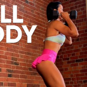 FAST 7 MINUTE DUMBBELL HIIT WORKOUT | TABATA